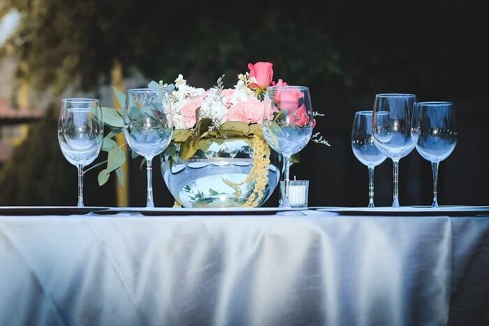 עיצוב שולחנות לחתונה